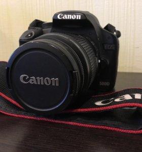 Комплект зеркальный фотоаппарат Canon EOS 500d
