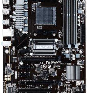 Gigabit 970A-DS3P FX + Процессор + Память
