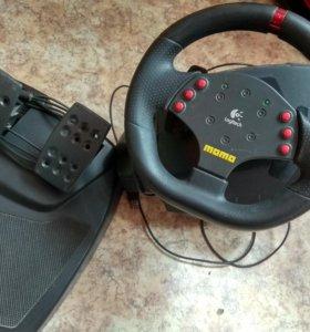 Руль momo racing force feedback wheel