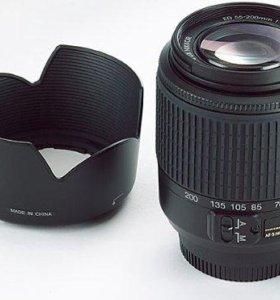 Nikon 55-200mm f4-5.6G ED Auto Focus-S DX