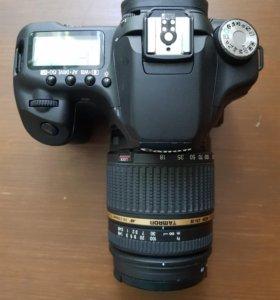 Canon EOS 50D + Tamron 18-250mm