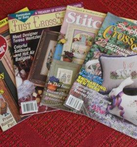 Иностранные журналы по вышивке крестиком