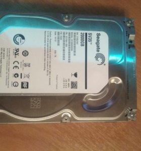 Жёсткий диск на 2 ТБ