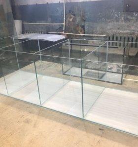 840л (200*70*60см) торговый аквариум. Производство