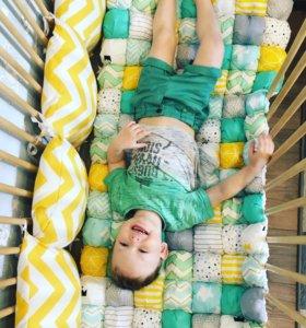 Бортики, одеяла, текстиль