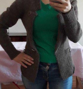 Комплект новая блузка +  кардиган Женский