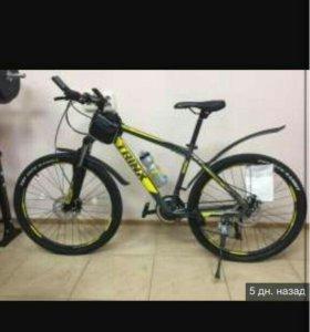 велосипед новыйТrinx,19 рама,26 колеса,аллюминевый