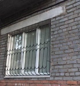 Продаю готовые решетки на окна, 4 шт.