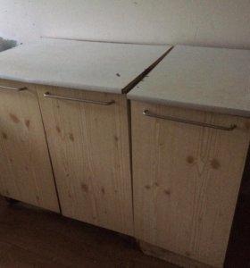 Шкафы кухонные б/у