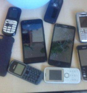 Телифоны зпчясти и рабочие