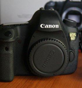 Зеркальный фотоаппарат Canon 6D