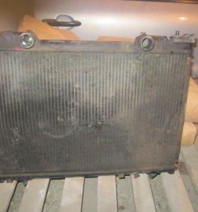 радиатор двигателя fiat