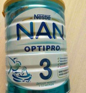 Детское молочко NAN 3