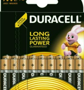 Duracell,LR6 батарейки