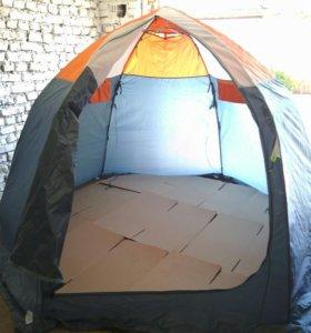 Б/У 3х местная палатка зима