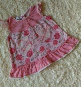 Платье на девочку 74 размер