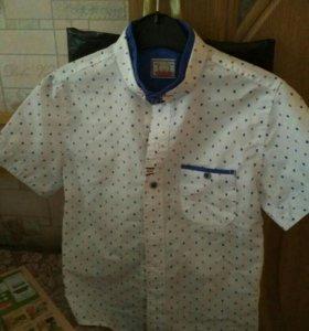 Рубашка на мальчика б/у 1 раз