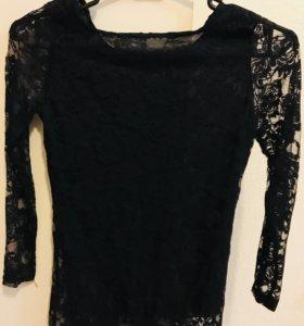 Гипюровая блузка ( новая )