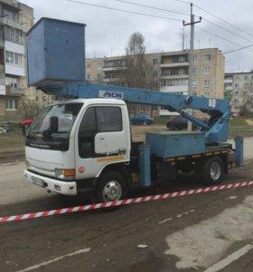 Автовышка АРЕНДА.Услуги . Заказ 10-25 м в ЕКБ