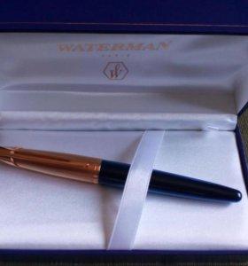 Ручка Waterman Edson Sapphire Blue, EF.