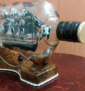 парусник в бутылке