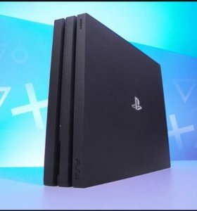 PlayStation 4pro +2шт dualshock4