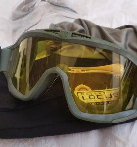 Новые страйкбольные очки Locust