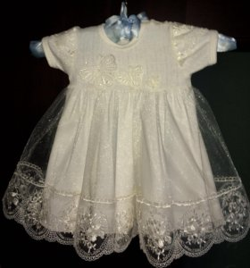 Платье Ньюборн на 4-7 месяцев