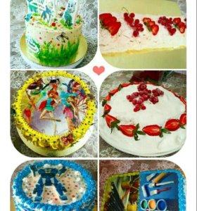 Торты и др.домашняя выпечка
