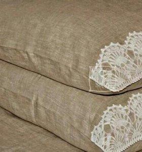 Постельное бельё по вашим размерам, шторы и др.
