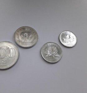 Северокорейские монеты