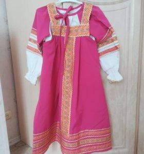 Народный костюм (сарафан +рубашка)