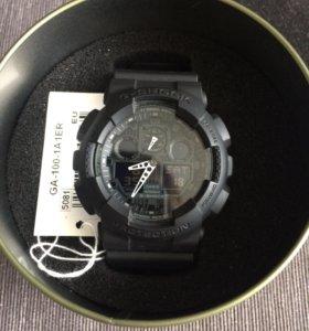 Часы G-shock GA-100-1A1