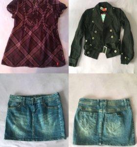 Женская одежда пакетом, р.40-42