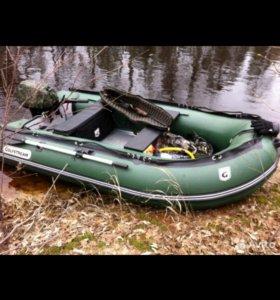 Резиновая лодка +мотор