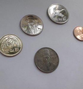 Южнокорейские монеты