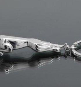 Не будь как все Брелок для ключей Jaguar