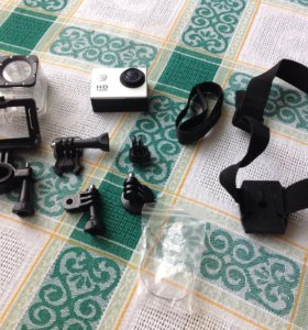 Экшеном камера ( полный комплект )