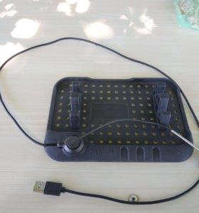 Силиконовый коврик с зарядкой