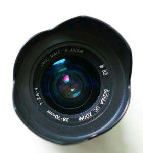 Объектив SIGMA UC ZOOM 28-70mm