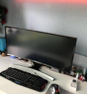 Системный блок +монитор