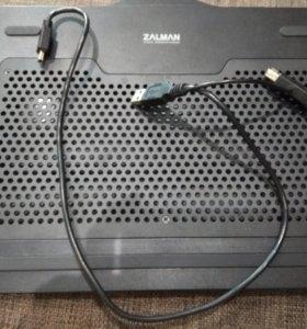 Подставка-кулер для мини ноутбука, фирма zalman