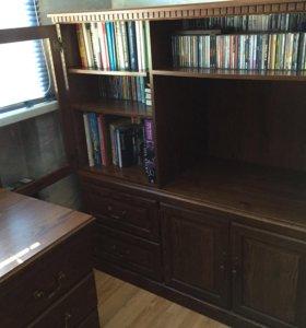 американская мебель фирмы Sauder шкаф