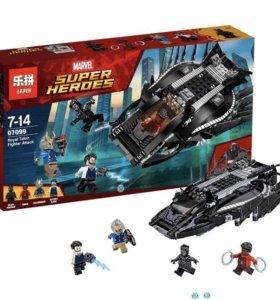 Lego Чёрная Пантера, реплика, новая, 401 деталь