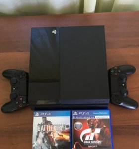 Sony PlayStation 4 (PS4) + 8 игр