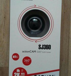 НОВАЯ экшен камера SJCAM 360