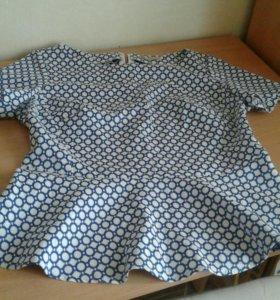 Блузка serginnetti.