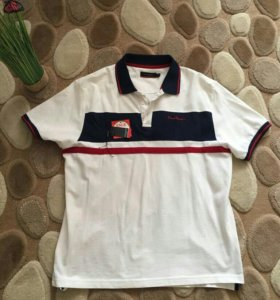 Рубашка новая  поло Pierre Cardin