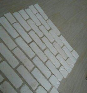 Кирпич декоративный гипсовый остатки