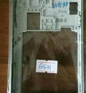 Бампер на Самсунг g 531+ именно стекло в подарок